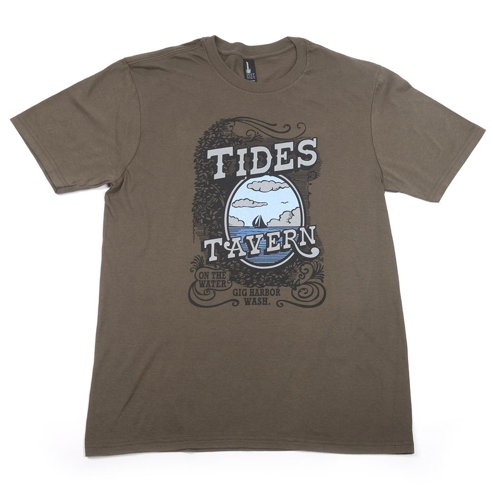Original Logo T Shirt Green