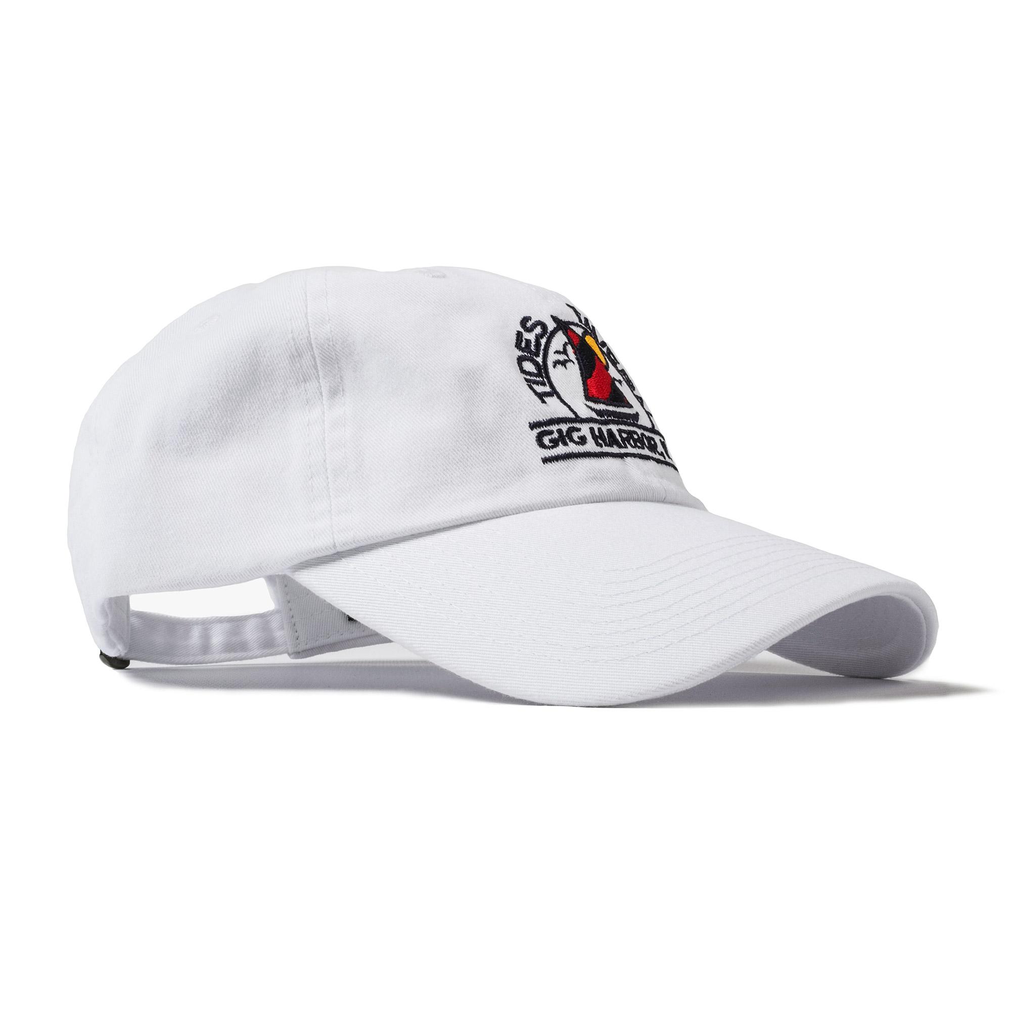 84af1242 Tides Tavern Sailboat Logo Cap - White