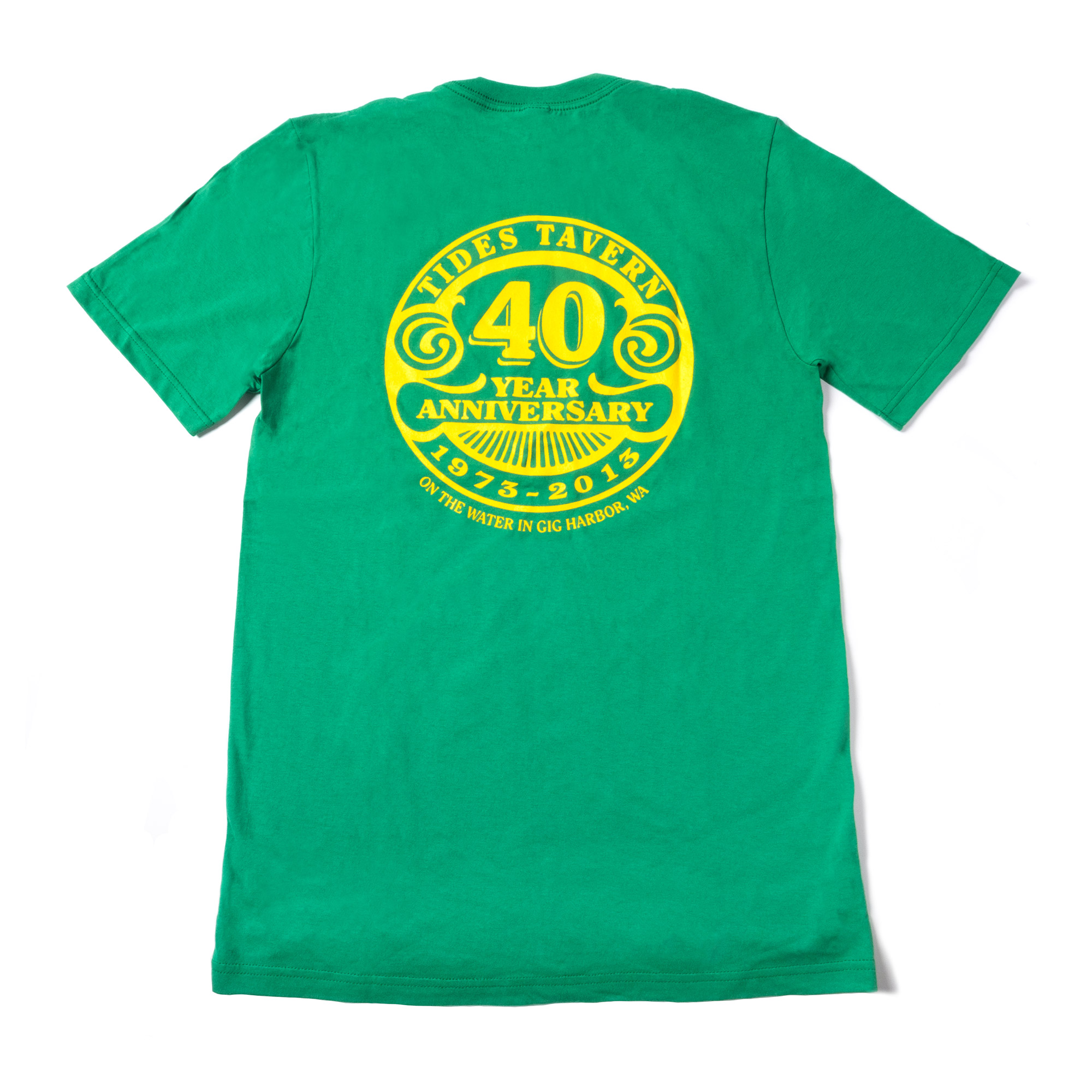 Tides 40th Anniversary T Shirt